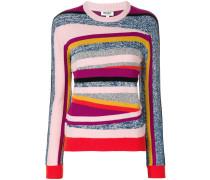 'Broken Stripes' Pullover