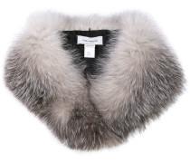 fox fur collar scarf
