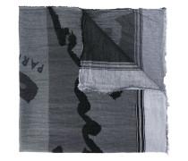 Baumwollschal mit Print