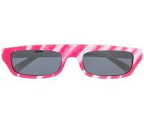 Sonnenbrille mit Streifen