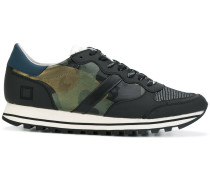 D.A.T.E. Sneakers mit Camouflage-Print