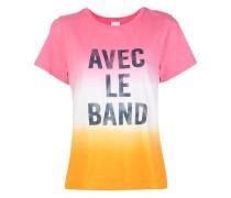 'Avec Le Band' T-Shirt mit Print