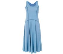 Kleid mit aufgestickten Einsätzen