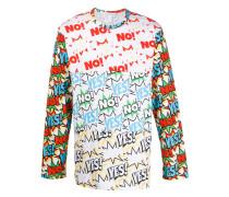 Sweatshirt mit Comic-Print