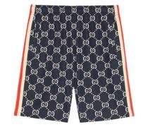 Jacquard-Shorts mit GG
