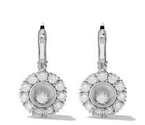 18kt 'Happy Diamonds' Weißgoldohrringe