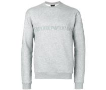 Sweatshirt mit Logo-Print