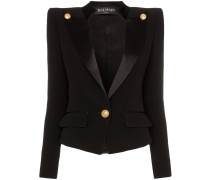 Buttoned Smoking Jacket