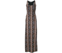 x Cristina Ferrari patterned fitted maxi dress