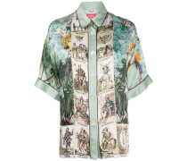 'Eupheme' Hemd aus Seide