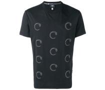 T-Shirt mit Schlangenmotiv