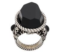 Ring mit Oversized-Stein