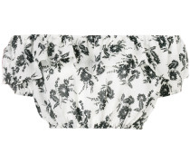 Schulterfreies Cropped-Top