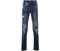 'Tepphar' Jeans in Distressed-Optik
