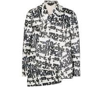 Asymmetrische Hemdjacke