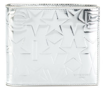 Portemonnaie im Metallic-Look