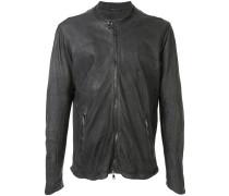 Jacke mit geknöpftem Kragen
