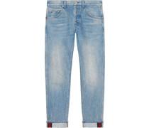 Jeans mit Umschlag