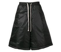 wide leg padded shorts