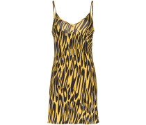 Camisole-Minikleid mit Tiger-Print