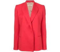 fitted V-neck blazer