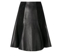 paneled A-line skirt