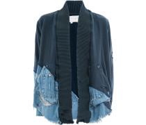 Jacke mit Jeanseinsätzen