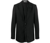 layered tailored blazer