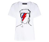 T-Shirt mit Bowie-Print
