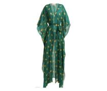 Josephine Baker Print Long Robe - Unavailable