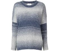 Ausgeblichener Oversized-Pullover