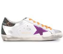 Sneakers in Metallic-Optik