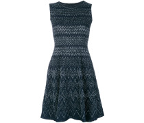 embroidered flared dress