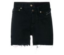 Asymmetrische Jeans-Shorts