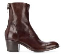 Maya block-heel ankle boots