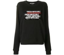 'Amour Impossible' Sweatshirt