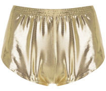 Metallische Shorts