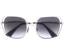 Sonnenbrille mit Farbverlauf