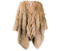 Mantel mit Pelz