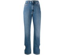 Jeans mit herzförmigem Cut-Out