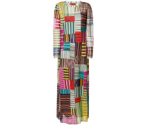 Maxikleid in Patchwork-Optik