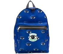 Rucksack mit Augen-Print