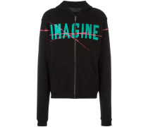 "Kapuzenjacke mit ""Imagine""-Print"