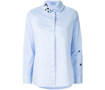 heart embroidered shirt