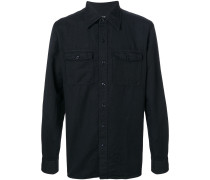 military button shirt