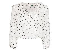 Gepunktete 'Alora' Bluse