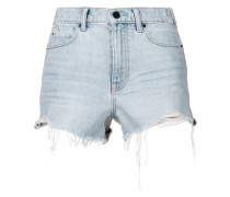 Shorts mit Fransen