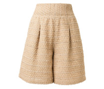 Knielange Tweed-Shorts