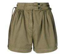 Shorts mit Faltendetails