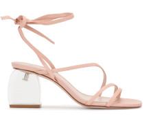 Sandalen mit Absatz, 70mm